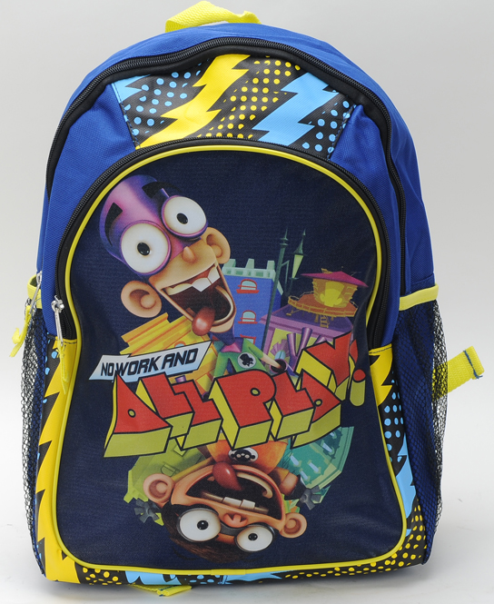 Fanboy and Chum Chum Large Backpack (31345B)